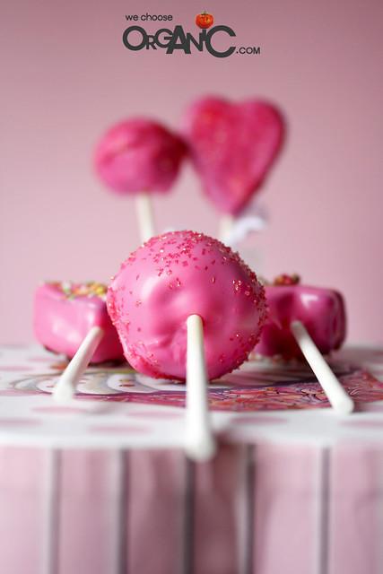 Lovely Pink Birthday Cake Pops For Mom How To Make Cake