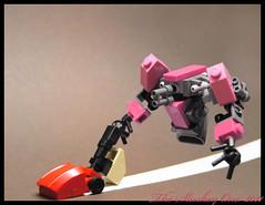 bapbapbap (The Slushey One) Tags: pink one lego vacuum roomba 2011 iroomba slushey