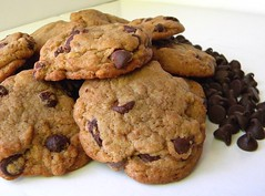 """Pure Ecstasy Chocolate Chip Cookies - A recipe from """"Murder by Mocha"""" a Coffeehouse Mystery by Cleo Coyle (Cleo Coyle) Tags: cookies recipe dessert chocolate chip ecstasy recipes mysteries chocolatechipcookie culinarymystery clarecosi coffeehousemystery murderbymocha cleocoyle"""