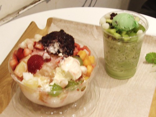 Paris Baguette Shave ice