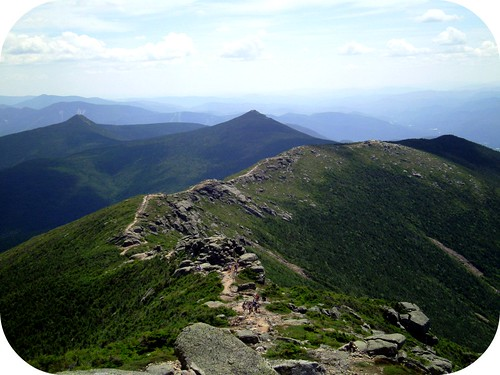 Ridgeline view from Mt. Lincoln