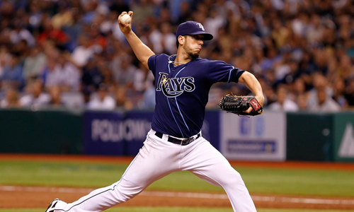 "Rays ""Dead-Set"" Against Trading Their Ace"