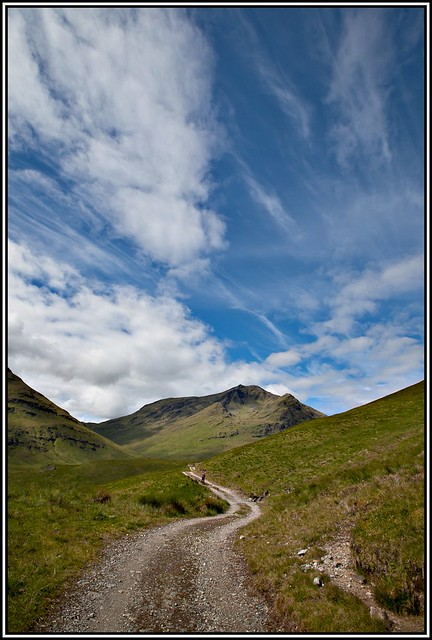 The long approach to Ben Lui