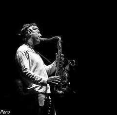 Saxofonista (Perurena) Tags: music jazz galicia musica pontevedra saxofon jazzconcert saxofonista plazadelaherreria festivalinternacionaldejazzdepontevedra
