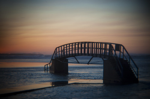 Belhaven Bridge Holga