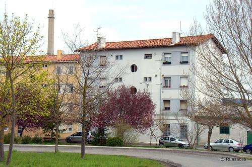 Edificios y vistas de la Avenida de Aróstegui