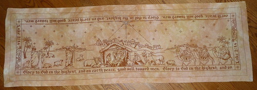 Nativity Story Table Runner - FINISHED 071911