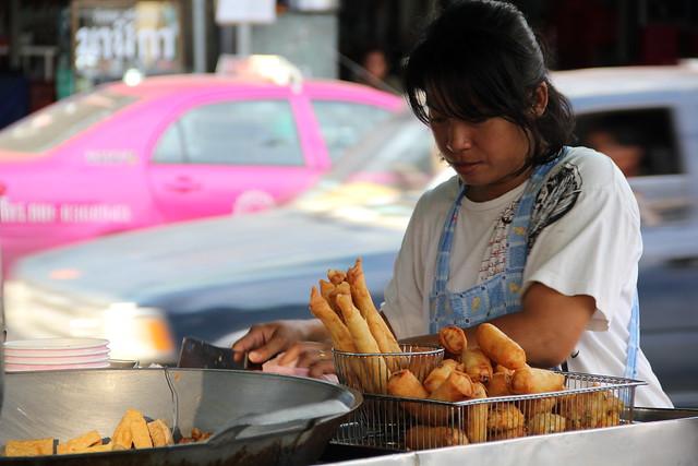 Bangkok vegetarian food