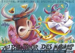 Affiche Festival Au Bonheur des Mômes-1996