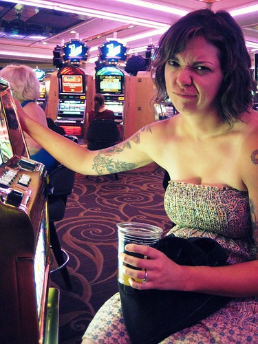 Brittany at the Penny Slots