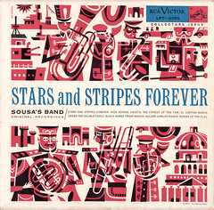 Stars and Stripes Forever (wardomatic) Tags: illustration vinyl cover record independenceday 10inch