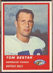 1963 Fleer - 33 - Tom Sestak