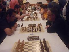 Ricard en plena partida (Club d'Escacs Mollet) Tags: lestany rpides