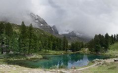 Lago Blu (l) Tags: travel italy mountain lake nature landscape lago europe italia outdoor lac montagna valledaosta valtournenche cervino flickrduel valledaoste