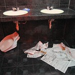 "Bathroom Disaster <a style=""margin-left:10px; font-size:0.8em;"" href=""http://www.flickr.com/photos/14315427@N00/5981927576/"" target=""_blank"">@flickr</a>"