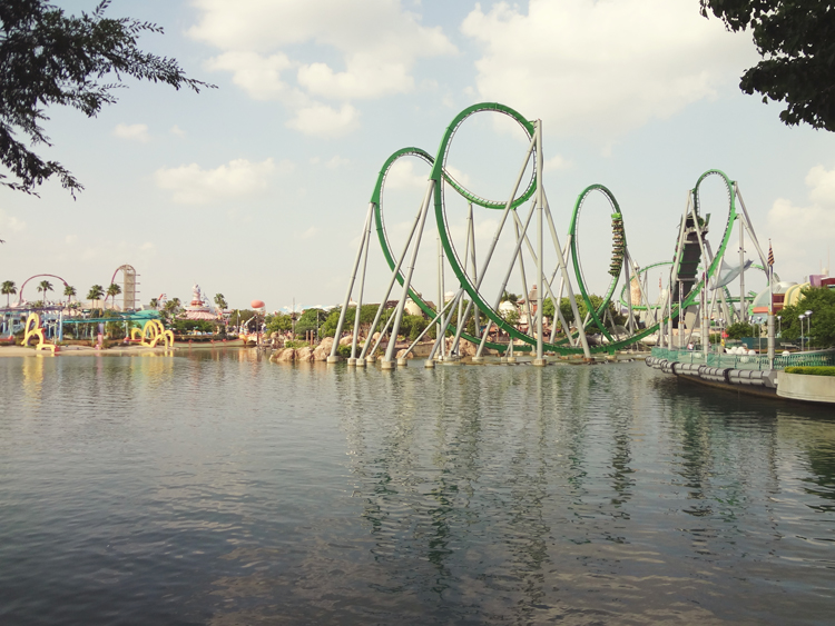 The Hulk Rollercoaster @ Islands of Adventure | Orlando, FL
