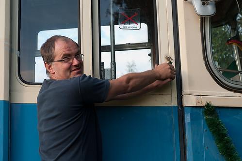 Abschied vom 2401: Die Tür wird ein letztes Mal abgeschlossen