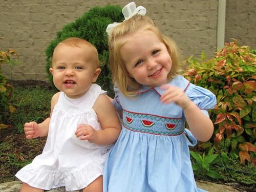 Anna and Caroline