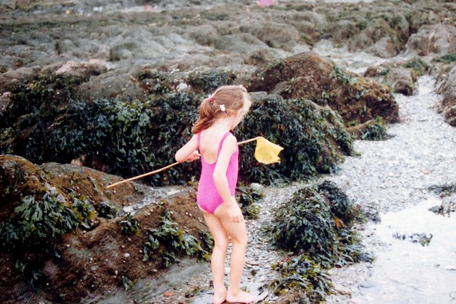 baby me on the beach
