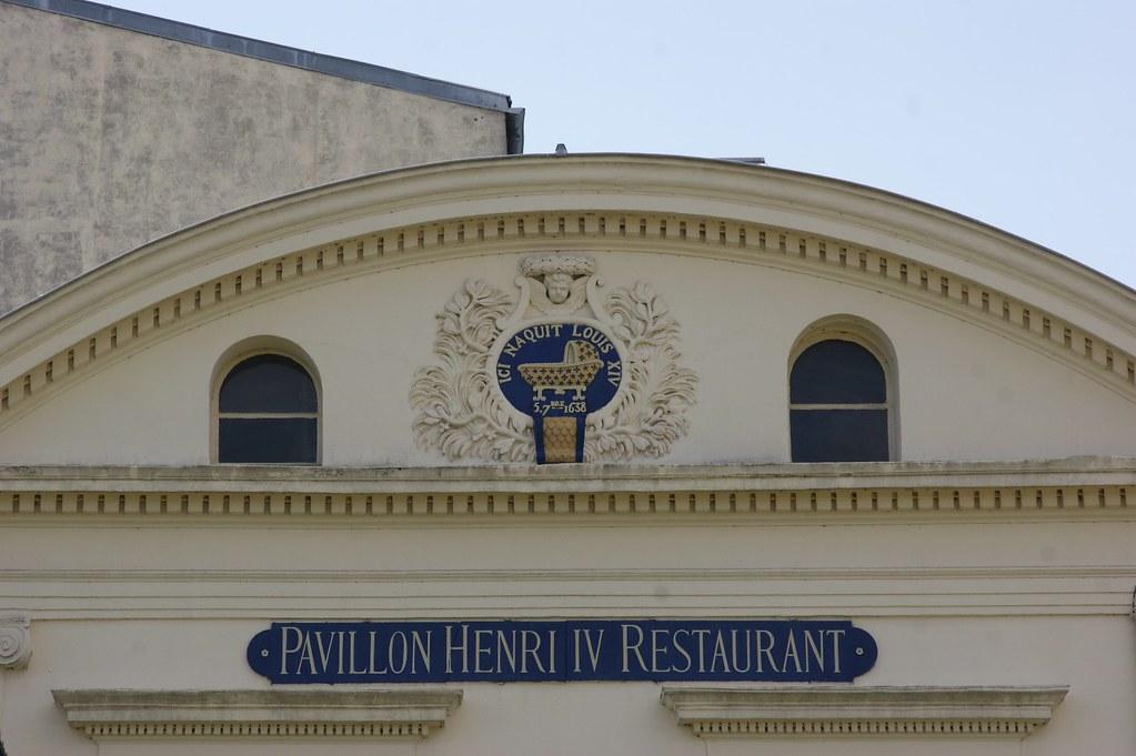 pavillon henry IV st germain en laye