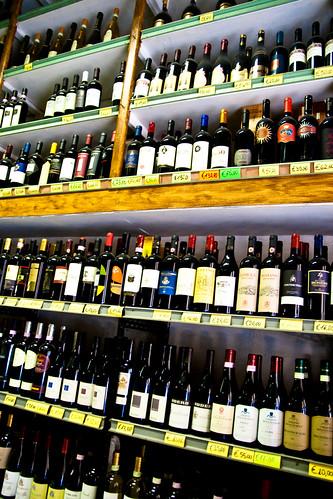 Wine at Enoteca Corsi