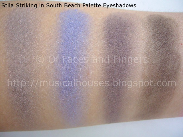stila stunning in south beach palette swatches 2