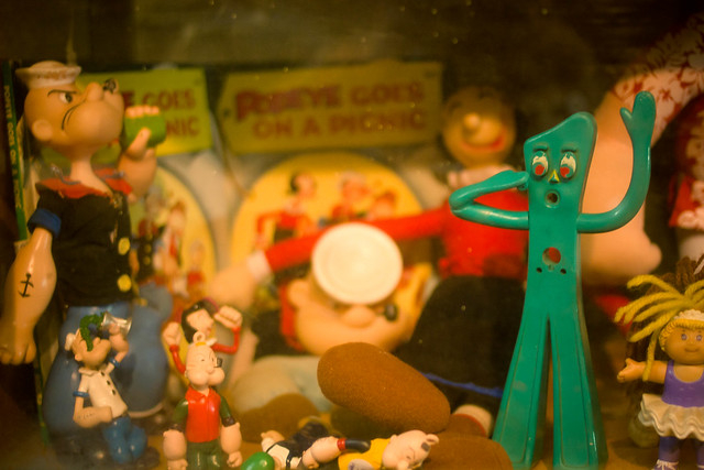 Gumby and Popeye