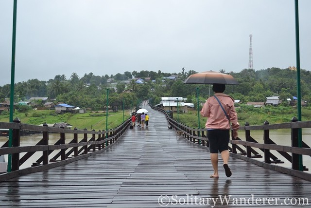 Wooden Bridge sangkhlaburi