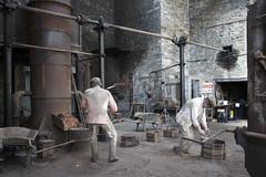 slate museum llanberis foundry (Martin Pritchard) Tags: museum wales north slate llanberis quarry fron ffestiniog haul gwynedd excavator blaenau dinorwig tanygrisiau