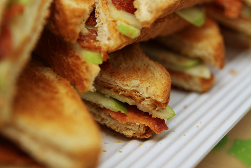 close up sandwiches