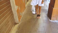 (Inese Aleksa) Tags: light summer italy sun white hot love digital canon soft dress legs wind weekend modena g12