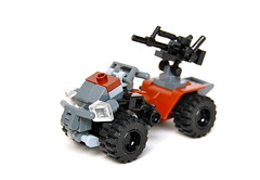 Apoc-ATV (Cam M.) Tags: cool gun lego awesome atv minifigs epic apocalego