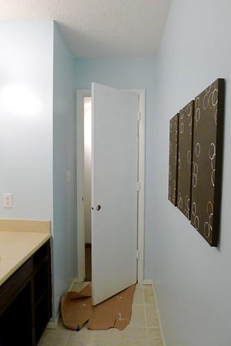 Painted Bath Door