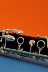 closeup photo of oboe