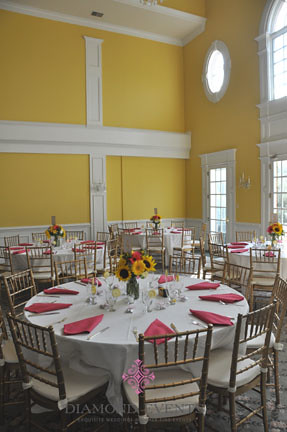Wedding reception at Rose Hill Manor in Leesburg, Virginia