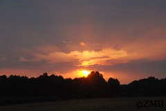 Sunset & Clouds (ZVMII) Tags: nc sunsets greensboro summerevenings