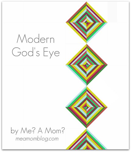 Modern God's Eye Pattern