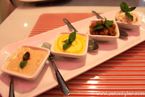 Combi-Dessert, Restaurante Tamarind