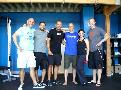 presenters at the elemental fitness lab clinic