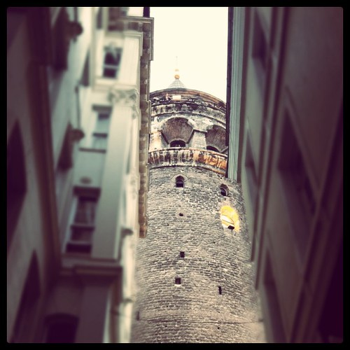 Tower approaching #istanbul #tower