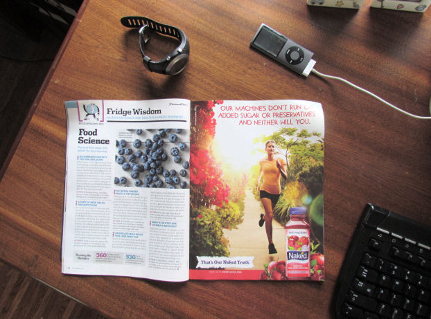 Runner's World Food Science Article