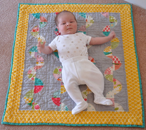 Theo's play mat quilt