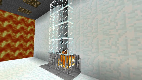 Contemporary fireplace by deadalready on flickr