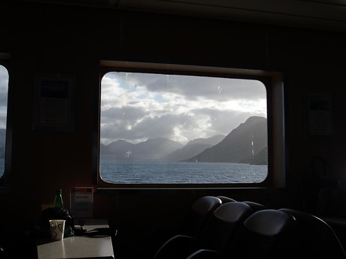 View from CalMac ferry Skye -> Mallaig