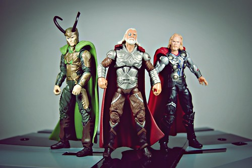 Odin with his two sons