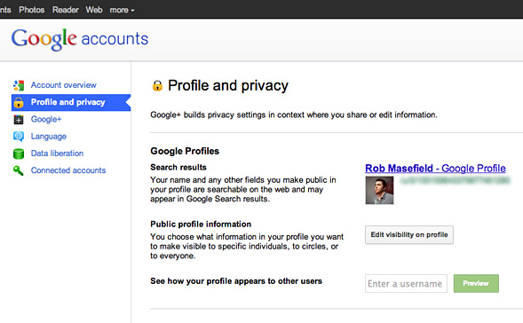 Google+ and your privacy