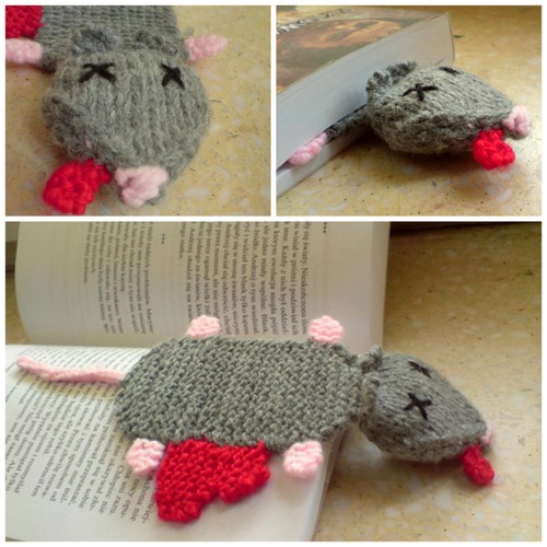 Rat bookmark