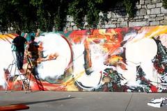 Eyes-b Reab Sambre (EYES-B // http://www.eyesb.be) Tags: festival graffiti freestyle dinant meltingpot namur sambre tsunamigraffiti 2011 reab eyesb