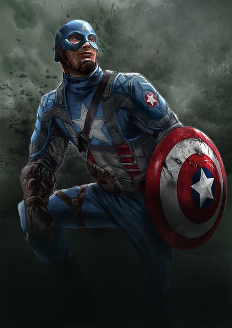 Captain-America rocketraygun complete