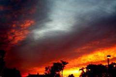 Ominous Sky (johnrudy3) Tags: sky postprocessed night dark ominous surreal multipleexposure unreal hdr blend blending bracketing aeb